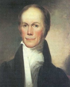 Henry Clay sat for this portrait in 1824.