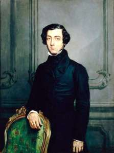 Tocqueville posed for this portrait around 1850, nearly two decades after his American odyssey.
