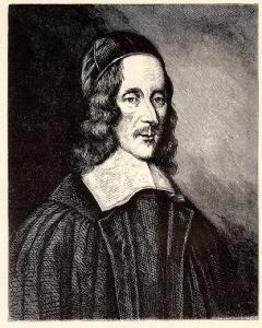 George Herbert (1599-1633) from a 1674 painting by Robert White