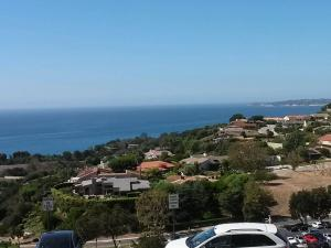The view from the rear of the student center at Pepperdine University
