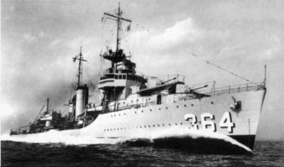 USS Mahan DD-364