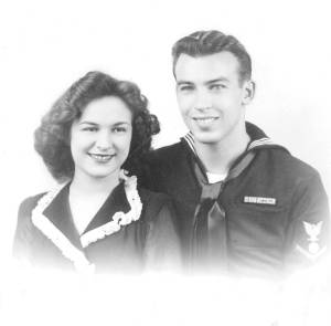 Ed and Margaret Lee, 1944