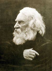 Henry Wadsworth Longfellow, photographed in 1868