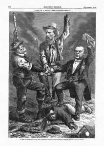 """This is a White Man's Country,"" Harper's Weekly, September 5, 1868"