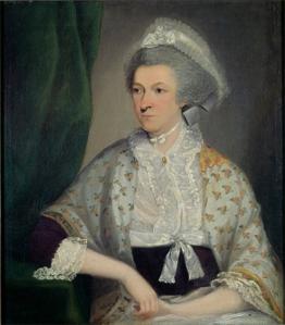 Abigail Adams, unidentified artist, circa 1795