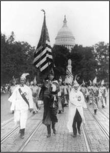 The Ku Klux Klan Marching Down Pennsylvania Avenue, September 13, 1926