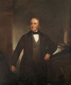 Henry Wadsworth, Longfellow in 1860, portrait by Thomas B. Reed