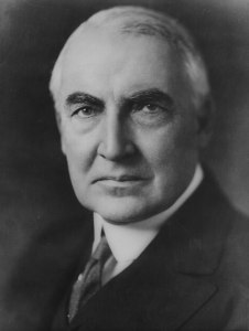 Warren G. Harding (1865-1923), 29th President of the United States