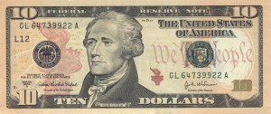 Ten-Dollar Bill