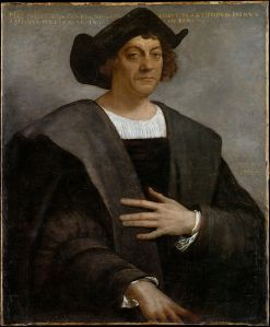 """Portrait of a Man, Said to be Christopher Columbus,"" by Sebastiano del Piombo, Metropolitan Museum of Art"