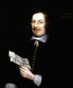 Edward Winslow, unknown artist, 1651. Winslow sat for the portrait while in England, three decades after penning the only first-hand account of the First Thanksgiving.