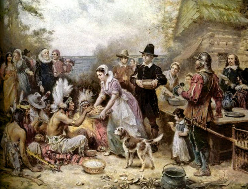 The First Thanksgiving--Jean Louis Ferris