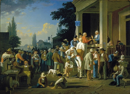 "George Caleb Bingham, ""The County Election,"" 1852"