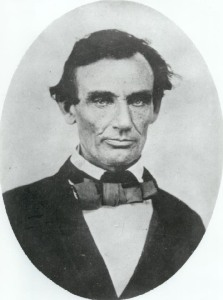 Lincoln in the late 1850s